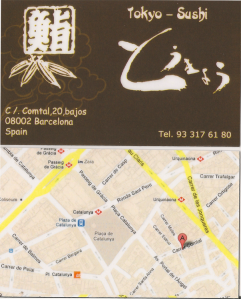 Tokyo-Sushi